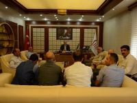 Eruh'taki STK'lar ve Mahalle Muhtarları Vali Tutulmaz'ı Ziyaret Etti