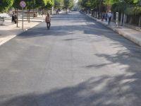 Kadri Oktay Caddesinde Asfaltlama Çalışması