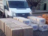 Siirt'te 95 bin değerinde kaçak sigara ele geçirildi