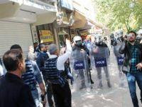 Siirt'te HDP'lilerle polis arasında gerginlik