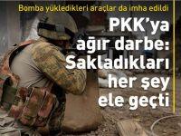 Şırnak'ta PKK'ya büyük darbe