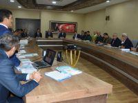 Siirt'te uyuşturucuyla mücadele toplantısı yapıldı