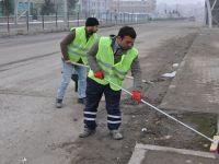Siirt Belediyesi'nden Hummalı Temizlik Çalışması