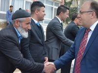 Vali Mustafa Tutulmaz, Şirvan ilçesinde incelemelerde bulundu