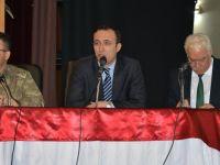 Siirt'te öğrenci taşıma güvenliği toplantısı yapıldı