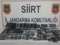Siirt'te kaçak cep telefonu operasyonu