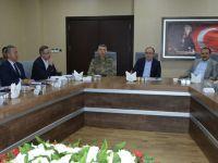 Siirt'te  'Seçim Güvenliği Toplantısı' Yapıldı