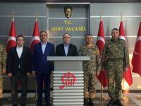 Şırnak Valisi Ali İhsan Su, ilimizi ziyaret etti