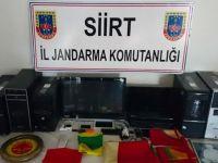 Pervari'de HDP ilçe binasına operasyon!