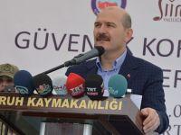 İçişleri Bakanı Soylu, Siirt'te temaslarda bulundu