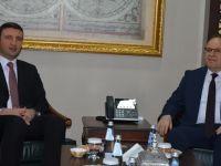 Bakan Yardımcısı Orhan Yegin, Tutulmaz'ı ziyaret etti