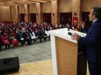 TÜRGEV'de Başkan V. Taşkın, Öğrencilerle Tecrübelerini Paylaştı