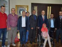 Vali Tutulmaz'a engelliler haftası ziyareti