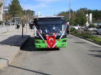 Siirt'te Sakarya Büyükşehir Belediyesinden 6 Otobüs