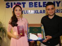 Yeni Evlenen Çiftlere Belediyeden Anlamlı Hediye