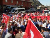 Baykan'da STK'lar ve vatandaşlar teröre lanet yağdırdı