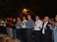 Siirtte demokrasi nöbeti yoğun bir katılımla gerçekleşti