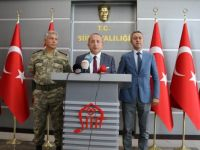 Vali Atik, Terör Operasyonları İle İlgili Basın Toplantısı Düzenledi