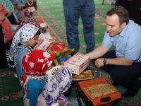Başkan Vekili Taşkın Kuran Kursu Öğrencilerini Ziyaret Etti