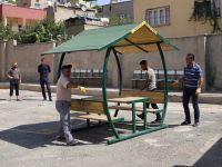 Siirt Belediyesi'nden Okul, Cami ve Kurumlara Kamelya Desteği