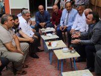 Başkan vekili Taşkın, çarşı esnafıyla kahvaltıda buluştu