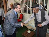 Başkan Taşkın'dan esnafa ziyaret