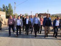 Milletvekili Aktay ve Başkan Vekili Taşkın Gökçebağ'da İncelemelerde Bulundu