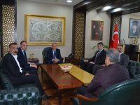 Pervari Belediye Başkanı Özcan'dan, Vali Atik'e Ziyaret