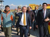 Siirt Havaalanında Çalışmalar Hızlandırıldı