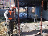 Görüntü ve Çevre Kirliliğine Neden Olan Büfeler Kaldırıldı