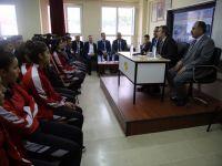 Başkan Vekili Taşkın Spor Lisesi Öğrencileriyle Bir Araya Geldi