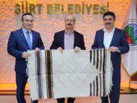 Ak Parti Genel Başkan Yardımcısı Sorgun, Siirt Belediyesine ziyeret