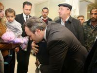 Başkan Vekili Taşkın Yaralıları Ziyaret Etti
