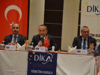 Dika Yönetim Kurulu Toplantısı Siirt'te Yapıldı