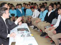 Siirt'te Eğitim Kurumlarında Söyleşiler Devam Ediyor