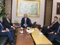 Siirt Üniversitesi Rektörü Erman, Vali Ali Fuat Atik'i Ziyaret Etti