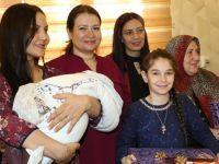 Vali Eşi Fulya Atik, Zeytin Dalı Harekâtına Katılan Polis Eşleri İle Bir Araya Geldi