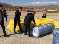 Siirt Valisi havalimanı inşaatında incelemeler yaptı