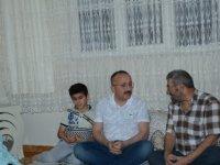 Siirt Valisi'nden çat kapı iftar ziyareti
