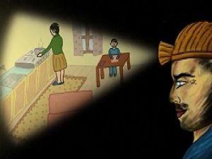 Maden işçisi çocuğunun çizdiği resim animasyon haline getirilmiş