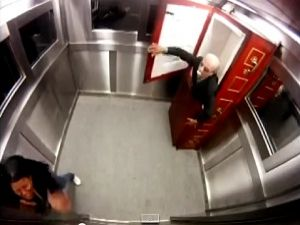 Asansörde Korkunç Şaka