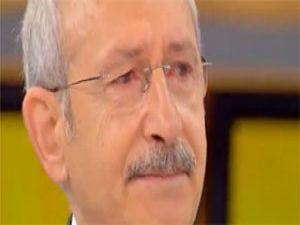 Kılıçdaroğlu canlı yayında ağladı işte sebebi!