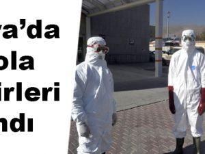 Konya'da Ebola Tedbiri
