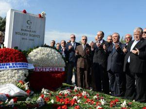 Bülent Ecevit 8.Yılda Mezarı Başında Anıldı