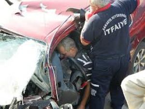 Sakarya Yolunda Trafik Kazası
