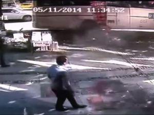 Otobüs kazasından Kıl Payıyla kurtuldu