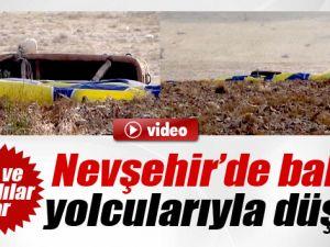 Nevşehirde Balon Kazası:1 Ölü, 6 Yaralı