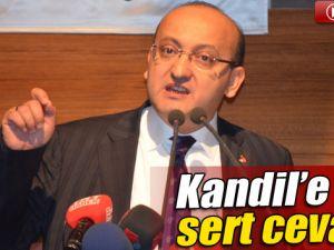Akdoğan'dan Kandil'e Jet Yanıt!