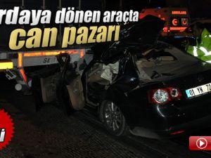 Mersin'de Otomobil TIR'ın Altına Girdi: 5 Ölü