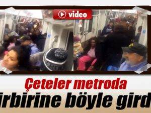 ABD Metrosunda İki Çete Birbirine Girdi